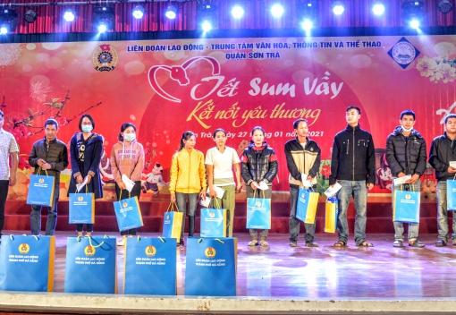 Sơn Trà: Tổ chức trao 450 suất hỗ trợ cho đoàn viên, người lao động