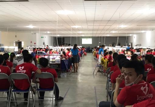 Liên Chiểu: Tuyên truyền - Đối thoại - Tư vấn pháp luật với 400 công nhân lao động Công ty TNHH LOVEPOP Việt Nam