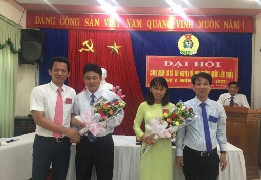Liên Chiểu: Công đoàn Phòng Tài nguyên & Môi trường tổ chức Đại hội lần thứ V