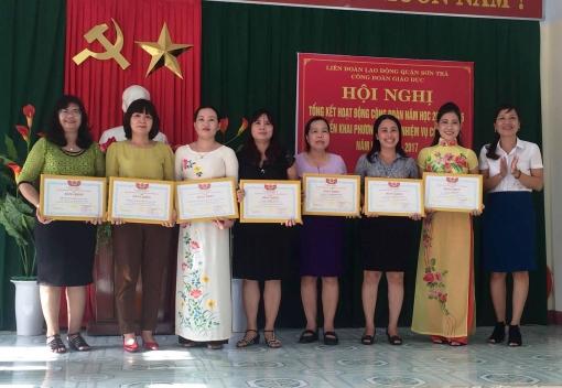 Công đoàn Giáo dục quận Sơn Trà: Tổng kết hoạt động Công đoàn