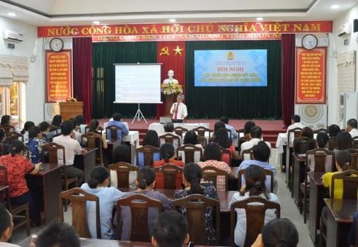 Thanh Khê: Tập huấn lực lượng cốt cán ở Công đoàn cơ sở