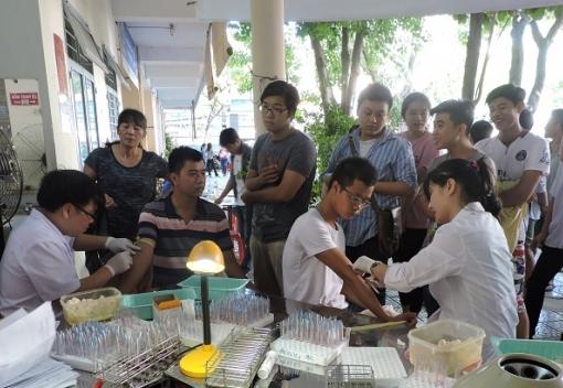 Hải Châu: Đoàn viên Công đoàn tham gia hiến máu tình nguyện