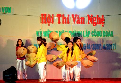 Hội thi văn nghệ kỷ niệm 10 năm thành lập Công ty TNHH Mabuchi motor Đà Nẵng