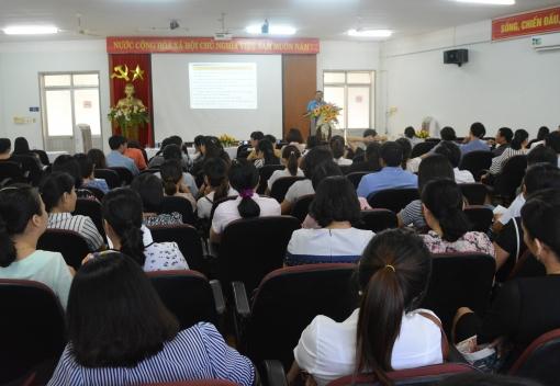 Ngành Giáo dục: Hội nghị tập huấn công tác Công đoàn