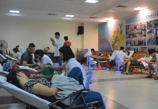 Hơn 200 cán bộ, đoàn viên, CNVCLĐ tham gia hiến máu tình nguyện