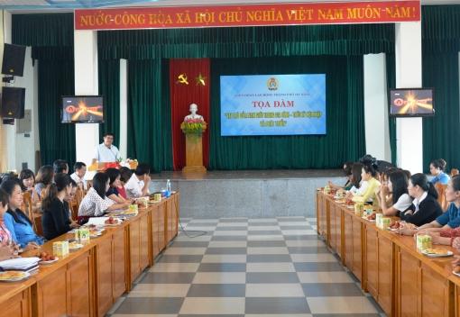 Tọa đàm kỷ niệm Ngày Phụ nữ Việt Nam 20/10