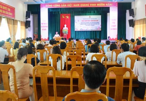 """Nói chuyện chuyên đề """"Cuộc đời, sự nghiệp Chủ tịch Hồ Chí Minh"""""""