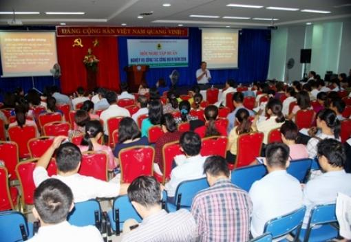 Công đoàn Viên chức Đà Nẵng tổ chức tập huấn nghiệp vụ công tác Công đoàn năm 2016