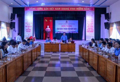 Hội nghị giao ban 6 tháng đầu năm 2020
