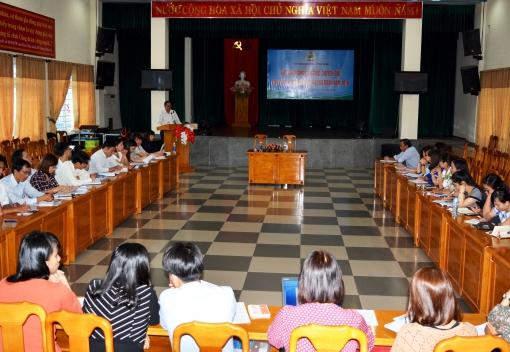 Liên đoàn Lao động thành phố Đà Nẵng tập huấn công tác Tài chính Công đoàn