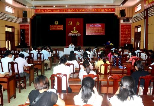 Cẩm Lệ: Tổng kết hoạt động Tháng Công nhân