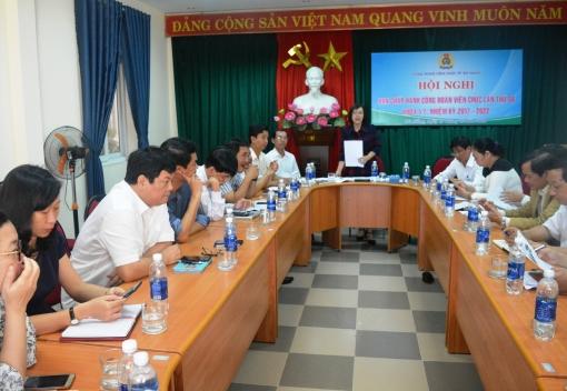 Hội nghị Ban Chấp hành lần thứ 6, khóa VI Công đoàn Viên chức thành phố