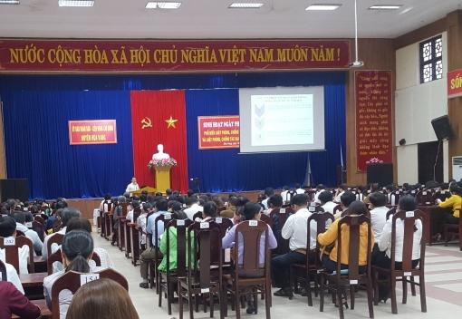 Hòa Vang: Tổ chức sinh hoạt Ngày pháp luật năm 2019