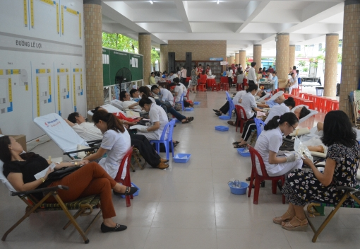 Ngành Giáo dục: Ngày hội hiến máu tình nguyện năm 2018