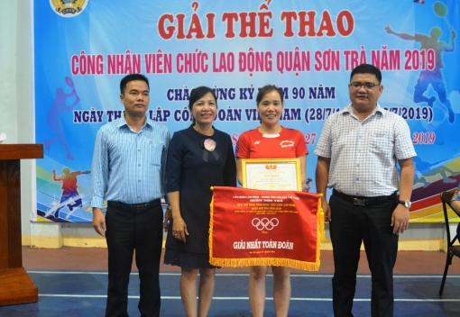 Sơn Trà: Bế mạc giải thể thao CNVCLĐ quận năm 2019