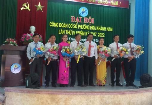 Liên Chiểu: Công đoàn phường Hòa Khánh Nam Đại hội lần thứ IV
