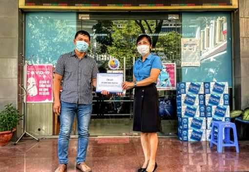 Sơn Trà: Thăm, trao quà cho đoàn viên tại khu cách ly y tế