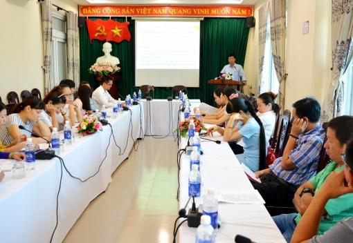 Liên đoàn Lao động quận Hải Châu tập huấn nghiệp vụ cho cán bộ Công đoàn các doanh nghiệp khu vực ngoài nhà nước