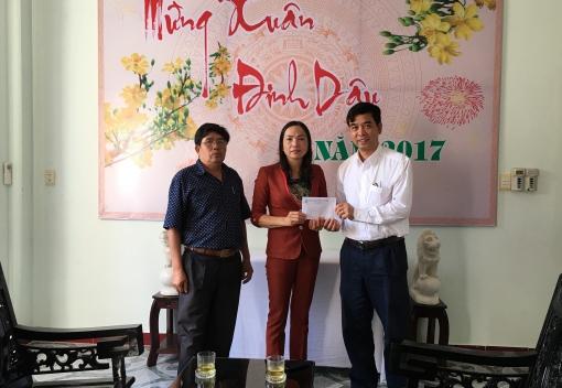 Thăm & tặng quà Trung tâm Nuôi dưỡng, điều dưỡng người có công Quảng Nam