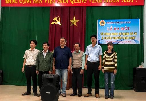 Liên Chiểu: Ra mắt Tổ công nhân tự quản khu nhà trọ số 25