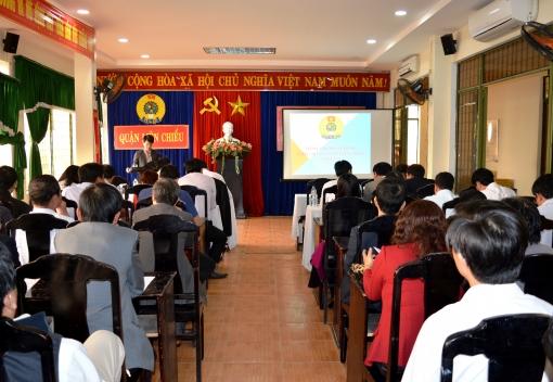 Liên Chiểu: hội nghị lần thứ 19 Ban Chấp hành Liên đoàn Lao động quận khóa IV (Nhiệm kỳ 2013-2018)