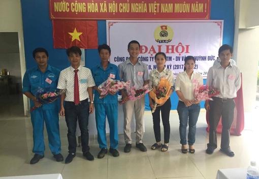 Công ty TNHH TMDV & SX Huỳnh Đức: Đại hội Công đoàn lần thứ II