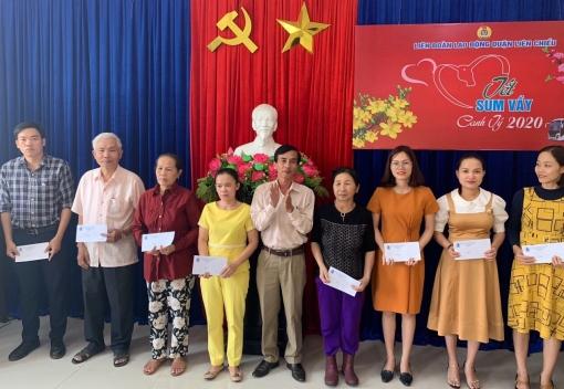 LĐLĐ quận Liên Chiểu trao 253 suất quà  cho NLĐ