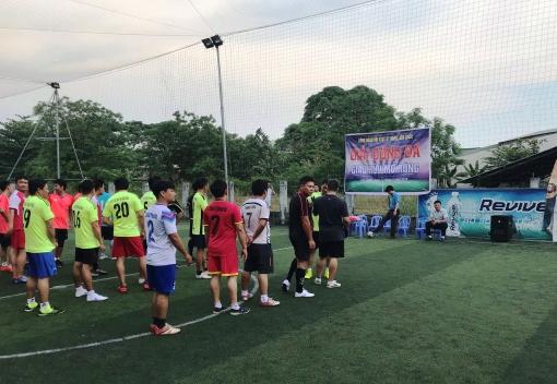 Công đoàn Đội Kiểm tra quy tắc đô thị quận Liên Chiểu: tổ chức giải bóng đá giao hữu mở rộng năm 2019