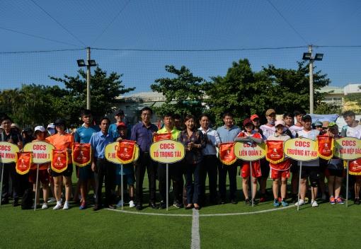 Liên Chiểu: Khai mạc giải bóng đá mini CNVCLĐ năm 2020