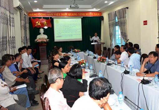 Công đoàn ngành Công Thương TP Đà Nẵng tập huấn nghiệp vụ công tác kiểm tra chấp hành Điều lệ Công đoàn