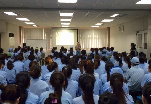 Công ty TNHH Daiwa Việt Nam tổ chức tuyên truyền pháp luật cho người lao động