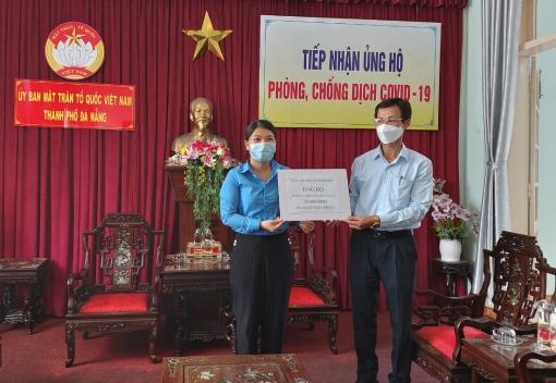 Công đoàn Viên chức ủng hộ công tác phòng chống dịch Covid-19