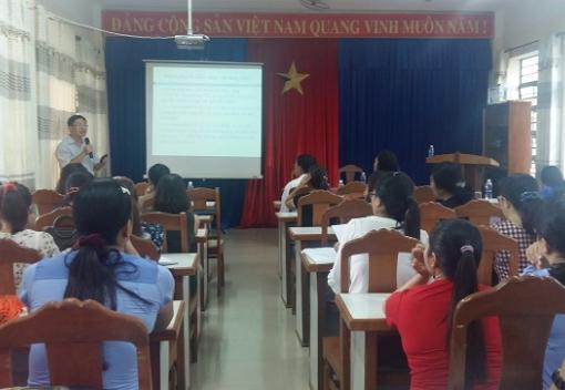 Tuyên truyền pháp luật cho đoàn viên trường TH Dũng Sỹ Thanh Khê