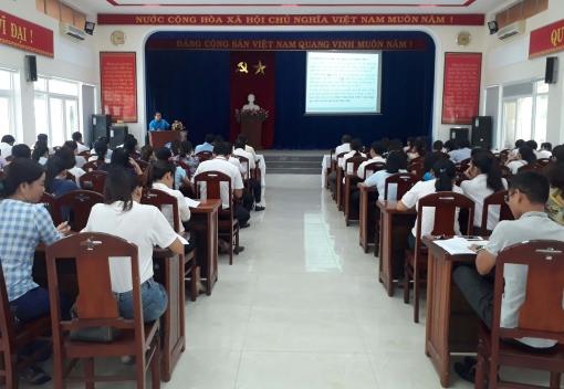 Ngũ Hành Sơn: Tập huấn nghiệp vụ công tác tài chính Công đoàn