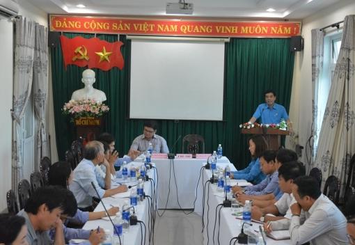 Hội nghị giao ban CĐCS Khối Trường học