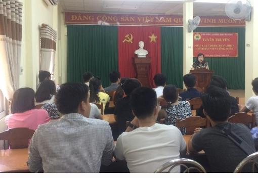 Hải Châu: Tuyên truyền, tư vấn Luật BHXH, BHYT, BHTN cho đoàn viên trong Tháng Công nhân năm 2018