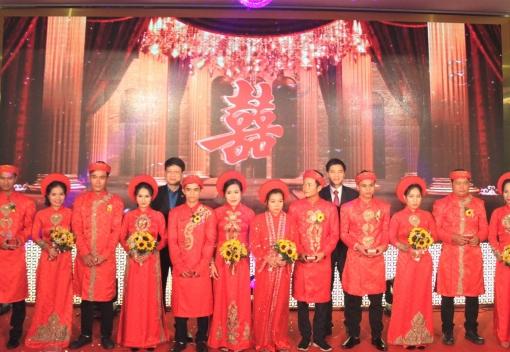 """Nghĩa tình """"Lễ cưới tập thể đoàn viên"""" tại Đà Nẵng"""