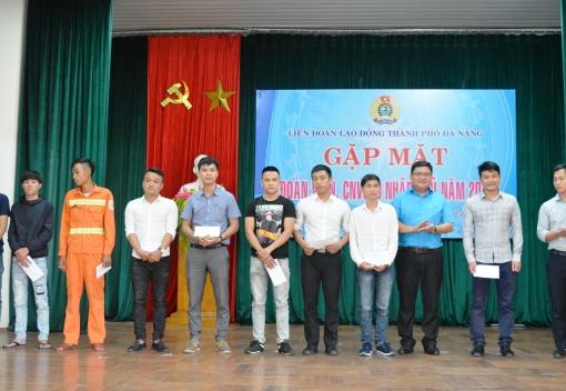 Gặp mặt đoàn viên, CNVCLĐ nhập ngũ năm 2019