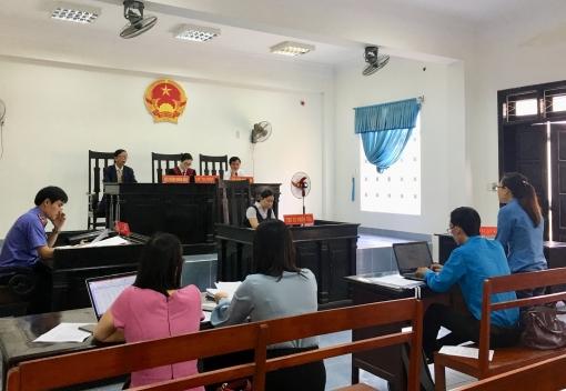 18 hồ sơ vụ án khởi kiện đòi nợ tiền lương, BHXH được xét xử trong ngày đầu tiên